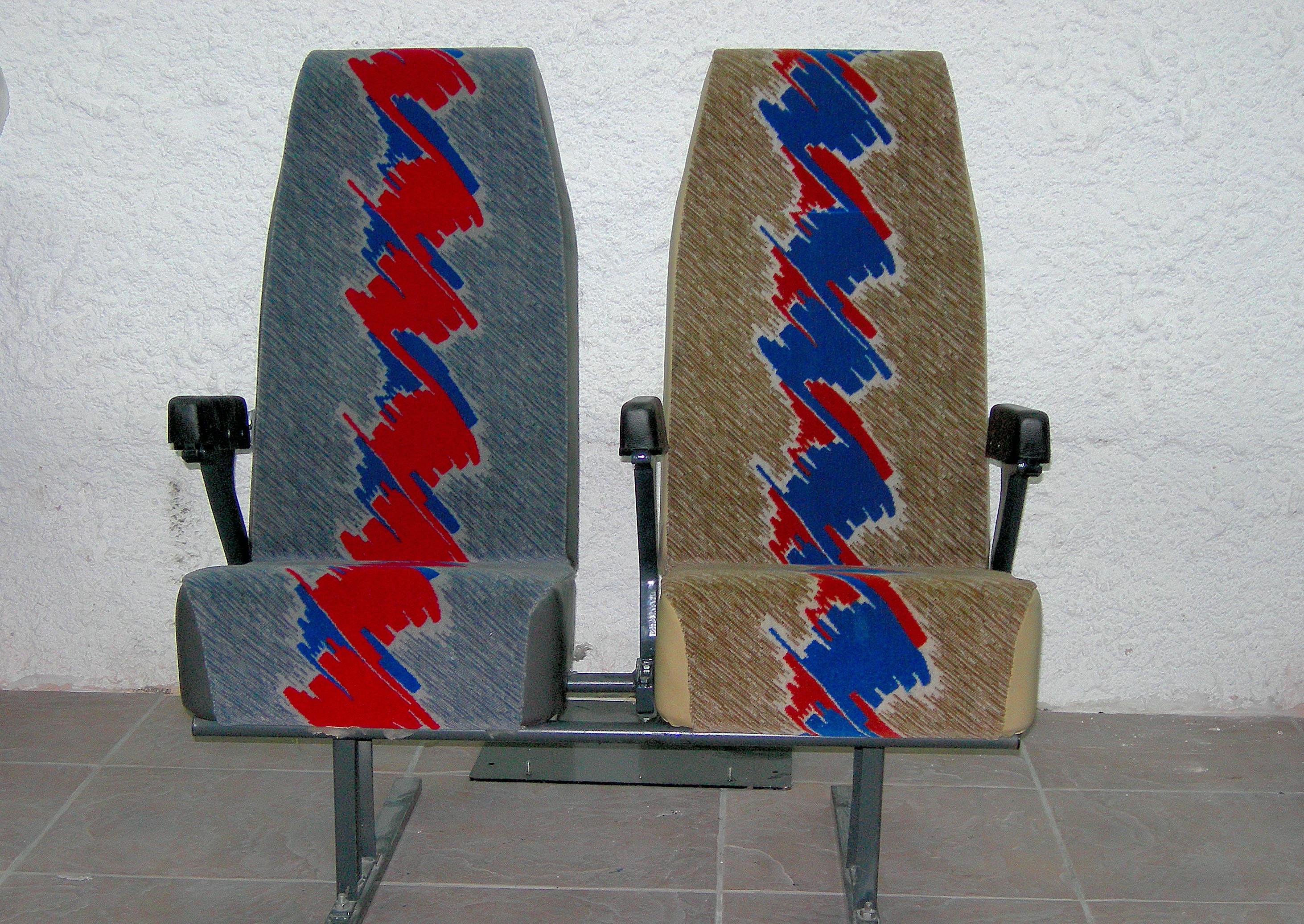 Κάθισμα μονό, διπλό, τριπλό, τετραπλό τύπου MERCEDES 3