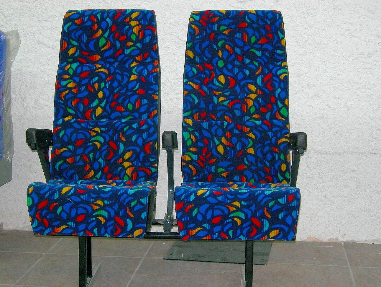 Κάθισμα μονό, διπλό, τριπλό, τετραπλό τύπου  REGARO