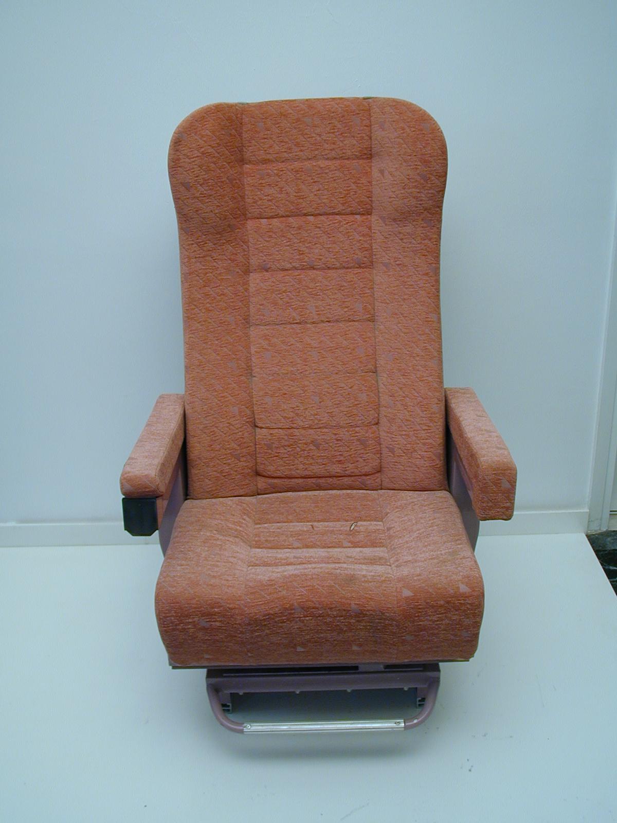 Κάθισμα, μονό τύπου  I.C.  Α θέση – Τραίνου
