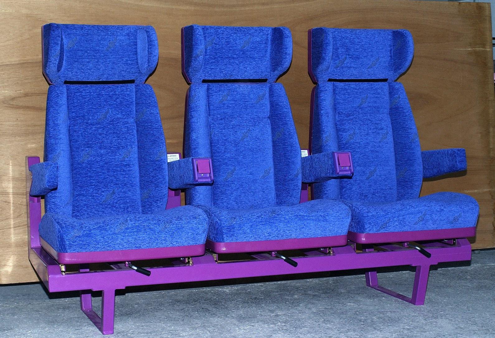 Κάθισμα, τριπλό πλευρικού διαδρόμου 3