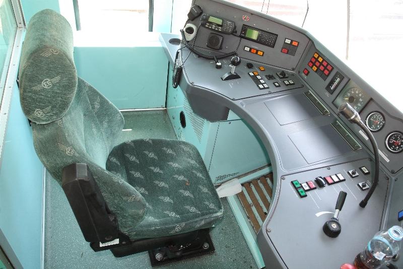 Train Driver Seat
